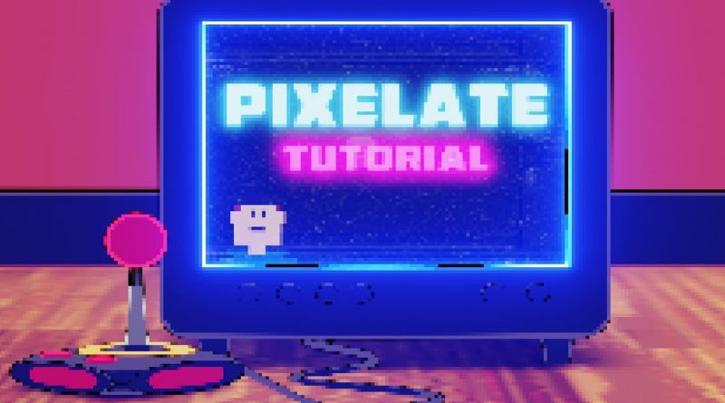 Pixelate Scene - Blender Tutorial
