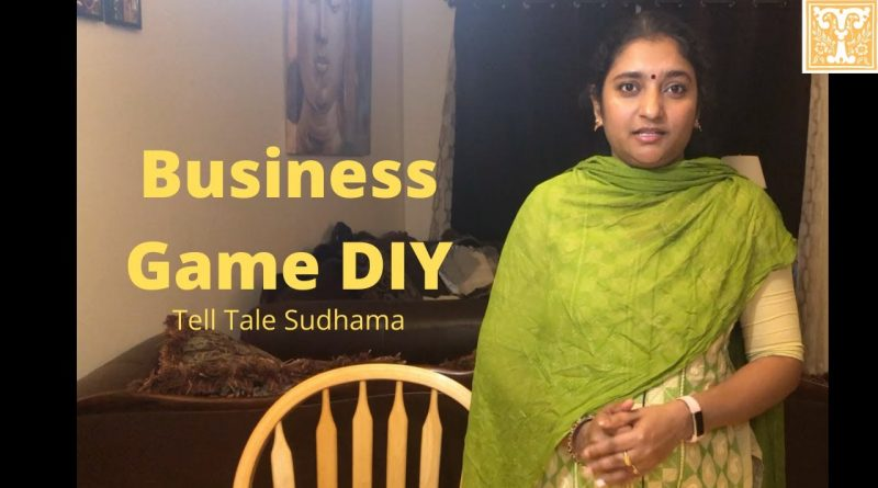 Business Game DIY and Game Rules in Tamil. Family board game.Board PDF in description.