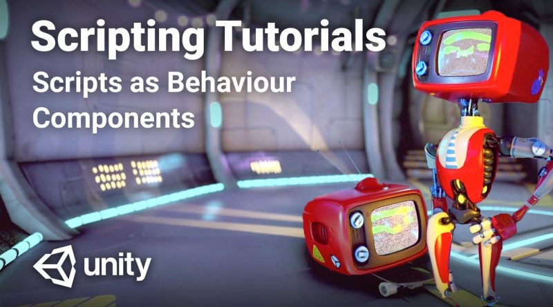 C# Scripts as Behaviour Components in Unity! - Beginner Scripting Tutorial