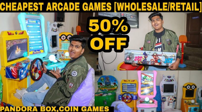 Cheapest Arcade Games Market [wholesale/retail] |pandora box,car games,coin games,etc |Delhi |2019