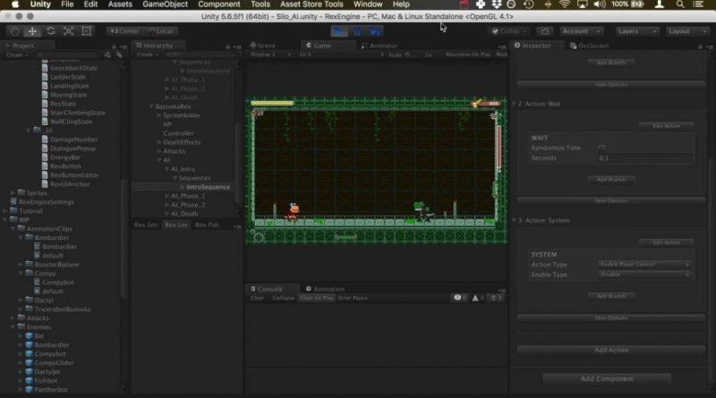 Rex Engine for Unity: AI Boss Tutorial Part 1