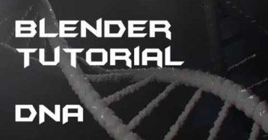 Blender Tutorial DNA
