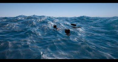 Unreal Engine 4  Oceanology 2.7 / Buoyancy tutorial /