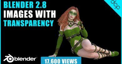 Blender Tutorial Images with transparency - Blender 2.8 Eevee