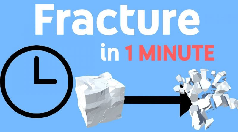 Fracture/Shatter Objects in 1 minute | Unity, Unreal, Godot (+More) Tutorial