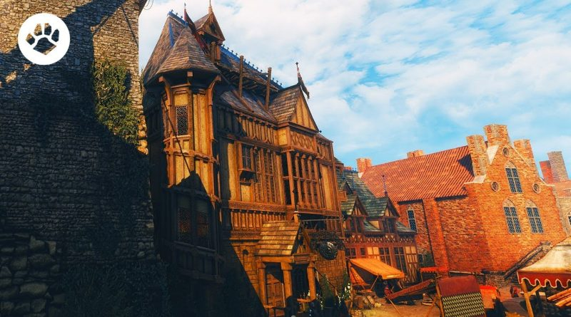 """The Witcher 3 -  """"Ray Tracing"""" Path Tracing - Marty McFly's RT Shader"""
