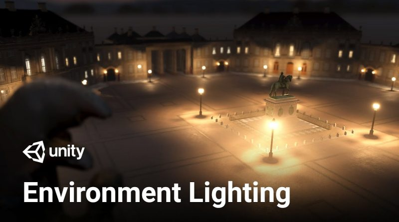 Setting up Environment Lighting in Unity 2019.3 with HDRP! (Tutorial)