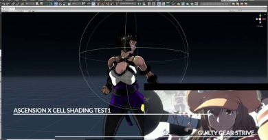 Unity GUILTY GEAR Cell Shader test