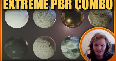 Blender 2.8 Extreme PBR Combo addon tutorial/review