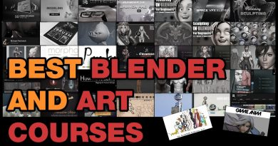 My advise on tutorial and courses to learn blender pipeline and digital art