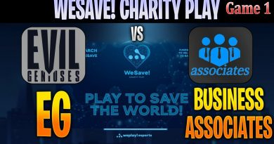 [ENG] EG vs Business Associates Game 1 | Bo3 | NA WeSave! Charity Play | DOTA 2 LIVE CAST @D2Bowie