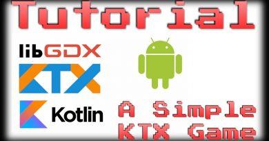 LibGDX Kotlin Tutorial - A Simple KTX Game