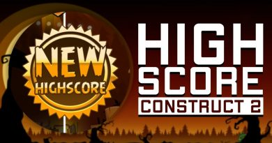 Cara Membuat Highscore Construct 2 Indonesia Save & Load + Webstorage