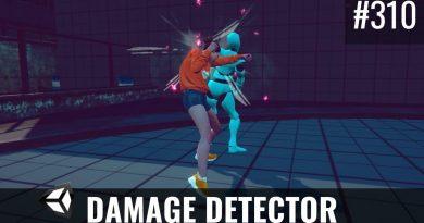 #310 Refactoring the DamageDetector (Part2) - Unity Tutorial