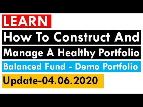 How to Construct and Manage a Healthy Portfolio || Portfolio Diversification || Money Management ||