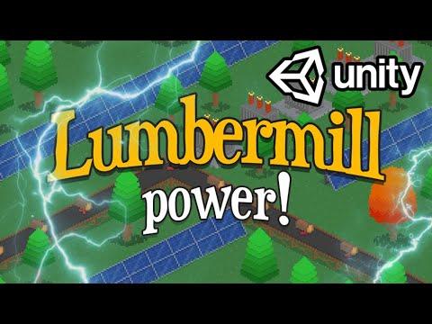 Adding POWER to Lumbermill! Indie Game Devlog