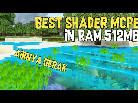Shader Minecraft Terbaik , airnya gerak kek ketiup kentut