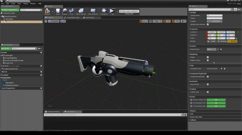 HUD Links tutorial. Unreal Engine 4