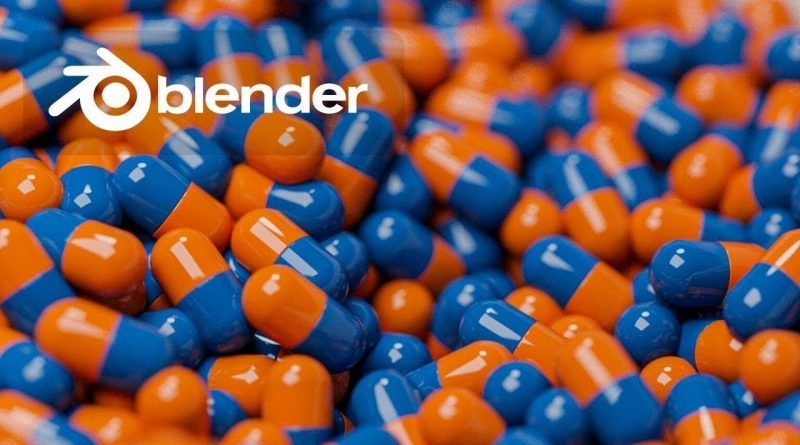 Tutorial - Super Satisfying Pill Simulation in Blender