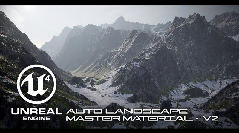Tutorial: UE4 Auto Landscape Master Material V2 - Setup