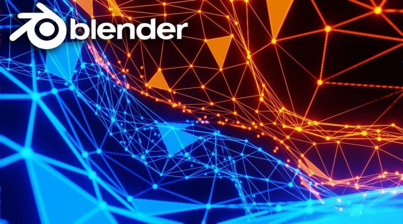 Create A Plexus Style Animation in Blender Eevee - Easy Blender Tutorial