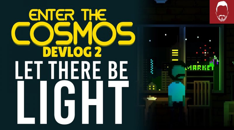 I ADDED LIGHTS INTO MY GAME!  | Enter The Cosmos - Indie Game Devlog #2