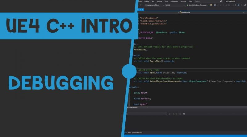UE4 C++ Tutorial - What are Debug Helpers? - UE4 / Unreal Engine 4 Intro to C++