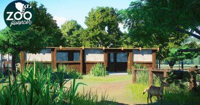 Nyala Habitat   Planet Zoo Speed Build   Veluwe Zoo EP22