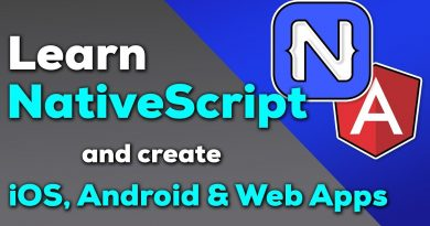 NativeScript Tutorial for Beginners - Build iOS, Android and Web Apps with NativeScript and Angular
