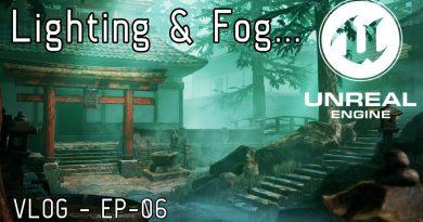 UE4 Lighting and Volumetric Fog tutorial | ArtStation Challenge EP.006