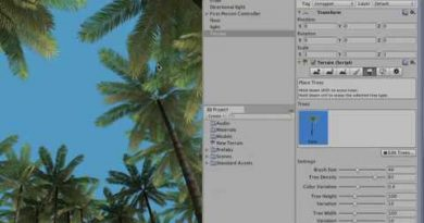 Unity tutorial for beginners 2020 02 07  Adding Trees