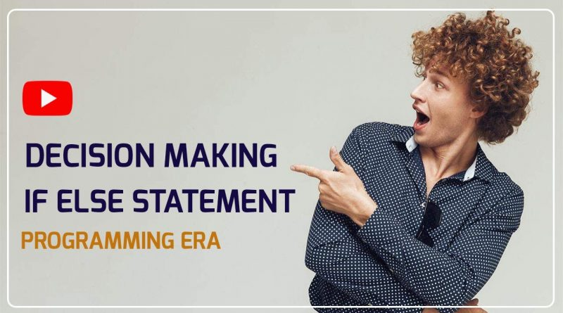 Decision Making  If Else Statement in Java Programming Part 2