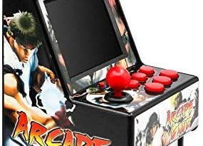 Easegmer Kids Mini Arcade Game Console, Mini Retro Handheld FC Games Consoles, 156 Classic Arcade Games, 2.8 Inches Electronic Games Consoles, Best Presents for Children and Seniors- Black