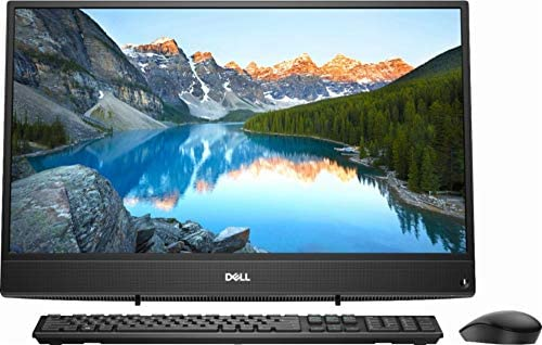 "Dell New 2018 23.8"" FHD Widescreen LED Touchscreen All-in-One (AIO) High Performance Computer PC, AMD A9-9425 3.1GHz up to 3.7GHz, 8GB DDR4, 1TB HDD, USB 3.1, WiFi, Bluetooth, Windows 10, Black"