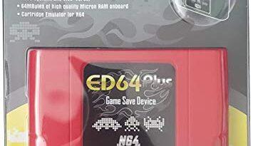 EXIGENT ED64 N64 SUPER 340 Cartridge Retro for Nintendo 64 + 16gb SDcard NEW