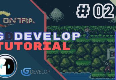 Gdevelop FREE VISUAL Game Engine: CONTRA Tutorial