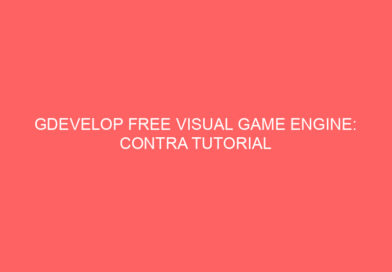 Gdevelop FREE VISUAL Game Engine: CONTRA Tutorial