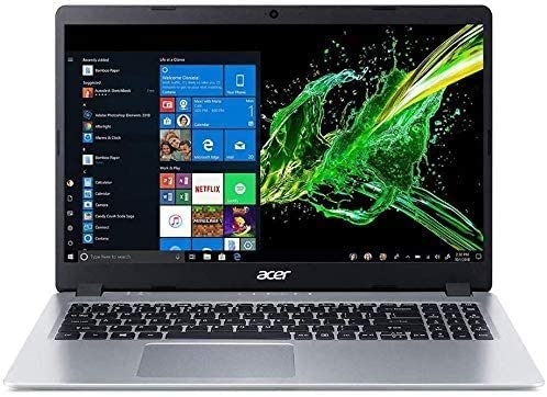 """2020 Newest Acer Aspire 5 15.6"""" FHD 1080P Laptop Computer  AMD Ryzen 3 3200U up to 3.5 GHz(Beat i5-7200u)  16GB RAM  128GB SSD+1TB HDD  Backlit KB  WiFi  Bluetooth  HDMI  Windows 10  Laser USB Cable"""