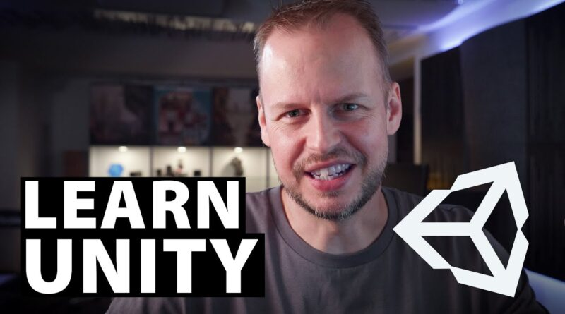 LEARN UNITY - The Most BASIC TUTORIAL I'll Ever Make