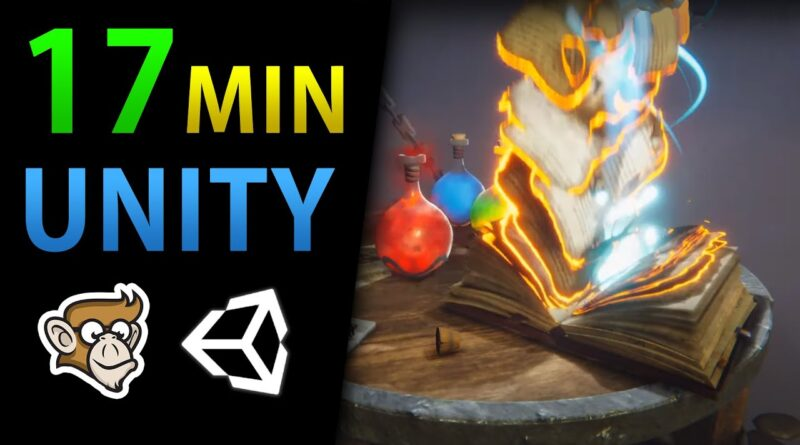 Learn Unity in 17 MINUTES!