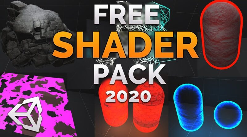 13 ULTIMATE FREE Unity 2020 Shaders!