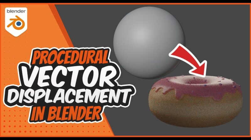 Procedural Vector Displacement in Blender 2.9 - Advanced Blender Tutorial Part 01