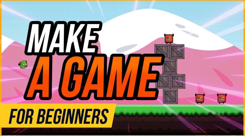 How to Make a Game - Unity Beginner Tutorial