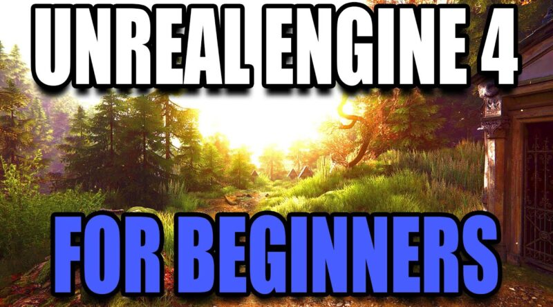 Unreal Engine 4 for Complete Beginners 2020 - CREATE YOUR FIRST GAME!