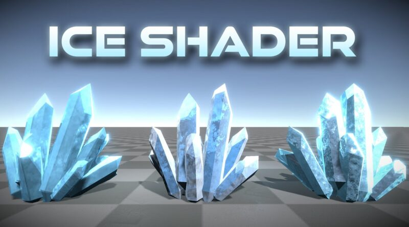 Unity Shader Graph - Ice Tutorial