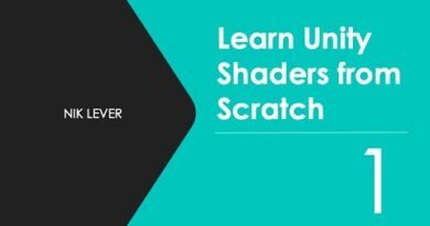 Learn Unity Shaders from Scratch