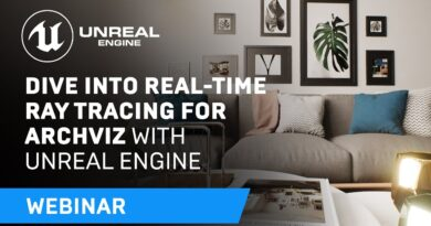 Using Unreal Engine's Real-Time Ray Tracing for Archviz   Webinar
