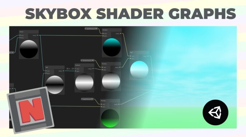 Making a Procedural Skybox Shader in Unity With Shader Graph!   Game Dev Tutorial