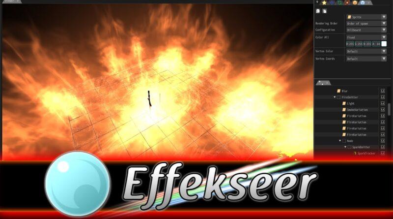 Effekseer 1.5 -- Amazing Free Particle Effect Tool