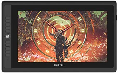 """GAOMON PD156PRO 15.6"""" Full-Laminated Graphics Drawing Display with 8192 Levels Pen Pressure Battery-Free Pen Support Tilt Function"""